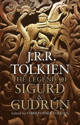 Couverture de l'édition simple de The Legend of Sigurd and Gudrun